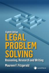 Legal Problem Solving – Reasoning, Research and Writing, 8th Edition cover