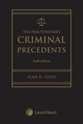 The Practitioner's Criminal Precedents, 6th Edition + USB cover