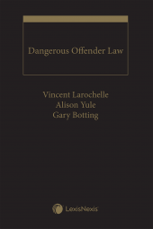 Dangerous Offender Law cover