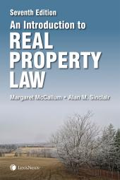 An Introduction to Real Property Law, 7th Edition cover
