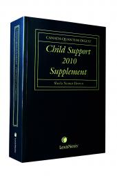 Canada Quantum Digest - Child Support + 2010 Supplement, Canada Quantum Digest - Matrimonial Property + 2010 Supplement and Canada Quantum Digest - Spousal Support and Dependants Relief + 2010 Supplement cover