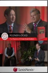 Pozner and Dodd, The Masters of Cross-Examination DVD, Third Edition cover