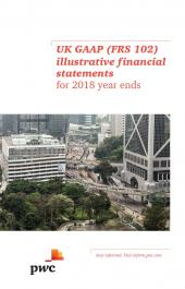 UK GAAP (FRS 102) illustrative financial statements for 2018 year ends ePDF cover