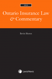 Ontario Insurance Law & Commentary, 2022 Edition cover