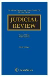 Supperstone, Goudie & Walker: Judicial Review Sixth edition cover