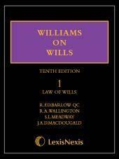 Williams on Wills 10th edition Set (Print and eBook) cover