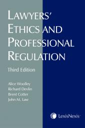 Lawyers' Ethics and Professional Regulation, 3rd Edition cover