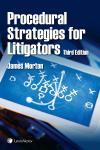 Procedural Strategies for Litigators, 3rd Edition cover