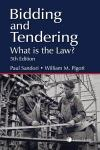 Bidding and Tendering – What is the Law? 5th Edition cover