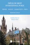 Précis de droit international public : théorie, sources, interlégalité, sujets, 3e édition cover