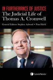 In Furtherance of Justice: The Judicial Life of Thomas A. Cromwell cover