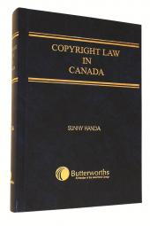 Copyright Law in Canada cover