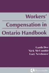 Workers' Compensation in Ontario Handbook cover