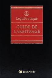 LegisPratique – Guide de l'arbitrage cover