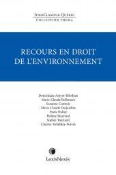 Thema - Recours en droit de l'environnement cover