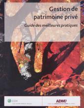 Gestion de patrimoine privé – Guide des meilleures pratiques cover