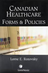 Canadian Healthcare Forms & Policies cover