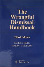 The Wrongful Dismissal Handbook, 3rd Edition cover