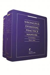 Wrongful Dismissal Practice Manual, 2nd Edition cover