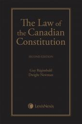 The Law of the Canadian Constitution, 2nd Edition cover