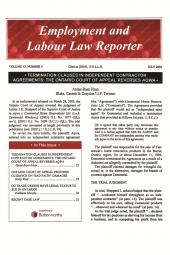 Employment and Labour Law Reporter- PDF cover