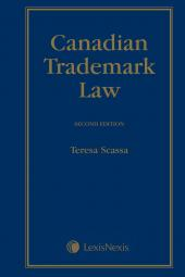 Canadian Trademark Law, 2nd Edition cover