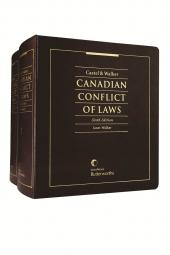 Castel & Walker: Canadian Conflict of Laws, 6th Edition cover
