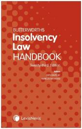 Butterworths Insolvency Law Handbook 23rd edition cover