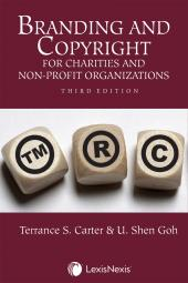 Branding and Copyright for Charities and Non-Profit Organizations, 3rd Edition cover