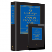 LegisPratique – Code de procédure civile annoté 2017-2018 cover