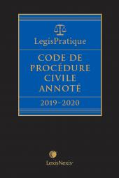 Code de procédure civile annoté 2019-2020 cover