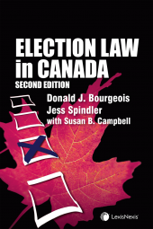Election Law in Canada, 2nd Edition cover