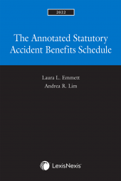 The Annotated Statutory Accident Benefits Schedule, 2022 Edition cover