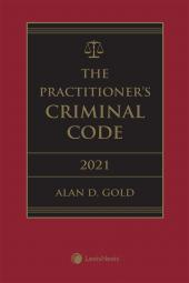 The Practitioner's Criminal Code, 2021 Edition + E-Book cover