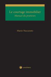 Le courtage immobilier – Manuel du praticien cover