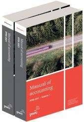 Manual of Accounting IFRS 2021 for the UK (eBook and Print Set) cover