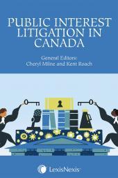 Public Interest Litigation in Canada cover