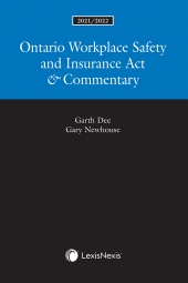 Ontario Workplace Safety and Insurance Act & Commentary, 2021/2022 Edition cover