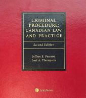 Criminal Procedure: Canadian Law and Practice, Second Edition cover