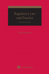 Regulatory Law and Practice, 2nd Edition cover