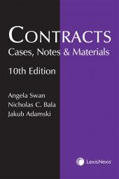 Contracts: Cases, Notes and Materials, 10th Edition cover