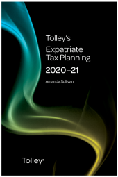 Tolley's Expatriate Tax Planning 2020-21 cover