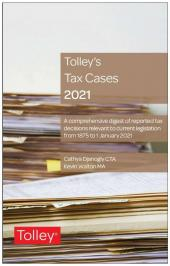 Tolley's Tax Cases 2021 cover