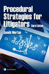 Procedural Strategies for Litigators, 3rd Edition img