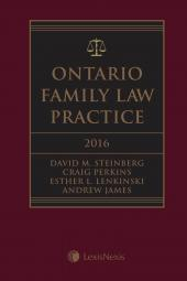 Ontario Family Law Practice, 2016 Edition img