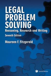Legal Problem Solving – Reasoning, Research and Writing, 7th