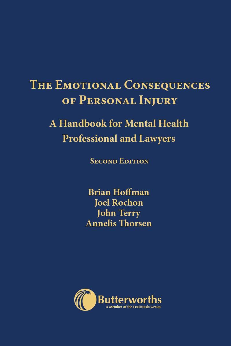 The Emotional Consequences Of Personal Injury 2nd Edition