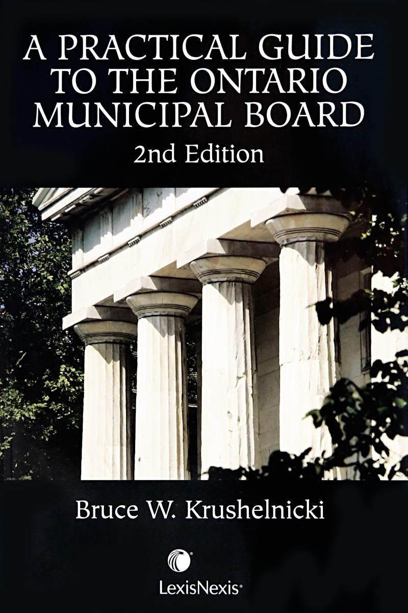 should the ontario municipal board be While much is still unclear, it appears that existing proceedings before the  ontario municipal board will not be impacted by bill 139.