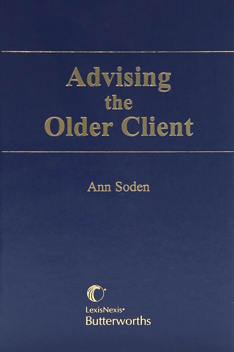 Advising the Older Client   LexisNexis Canada Store