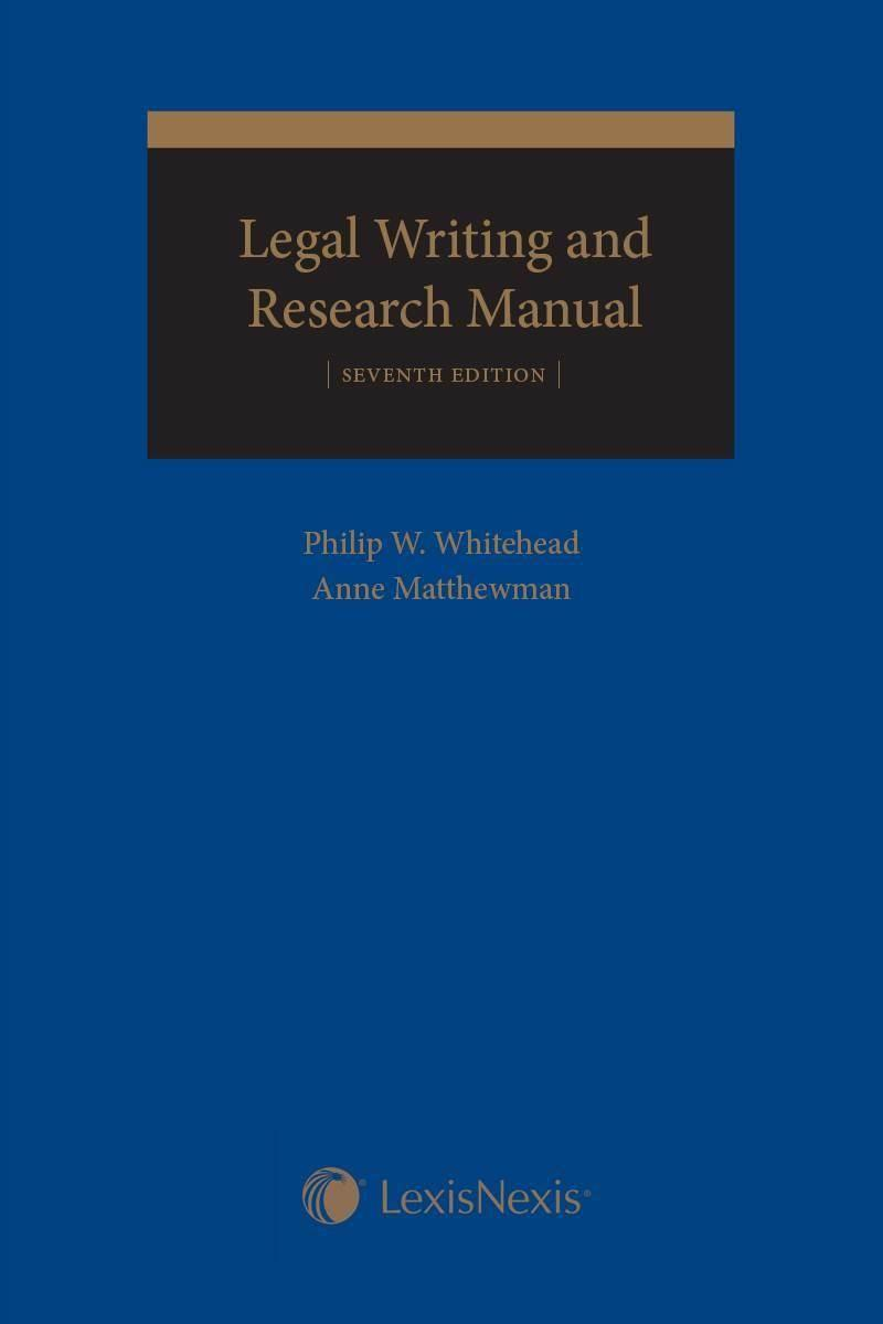 legal research and writing book